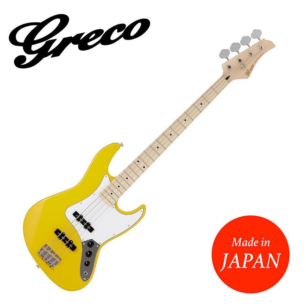 GRECO WSB-STD Amarillo yl yl yl Arce Bajo Eléctrico Guitarra Hecha En Japón  forma única