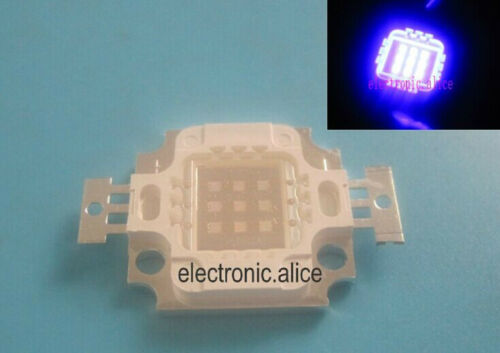 10W High Power LED UV Light Chip 365nm 375NM 385nm 395nm 410nm  Ultra Violet