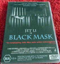 DVD. Jet Li is Black Mask /Jet Li, Ching Wan Lau, Karen Mok/ (MA)15+ / Reg 4 Pal