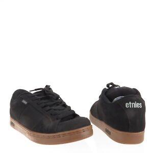 fcedcacc056 Men s Etnies Kingpin Shoes Black Suede Low Top Skateboard Sneakers ...