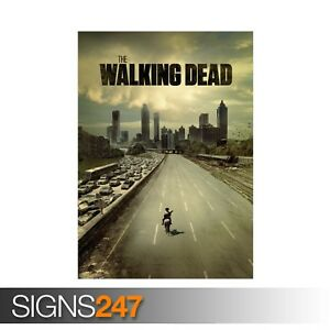 THE-WALKING-DEAD-ZZ024-MOVIE-POSTER-Photo-Picture-Poster-Print-Art-A0-to-A4