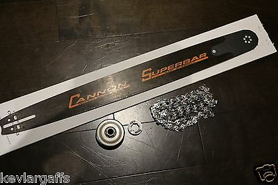 PILTZ 24 inch 7 Tooth SUPERBAR Conversion Kit fits MS170, MS180, MS250 Chainsaw