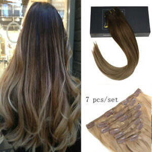 Ugeat PU Remy Tape in Human Hair Extensions Solid Darkest Brown 2# 50g 100g