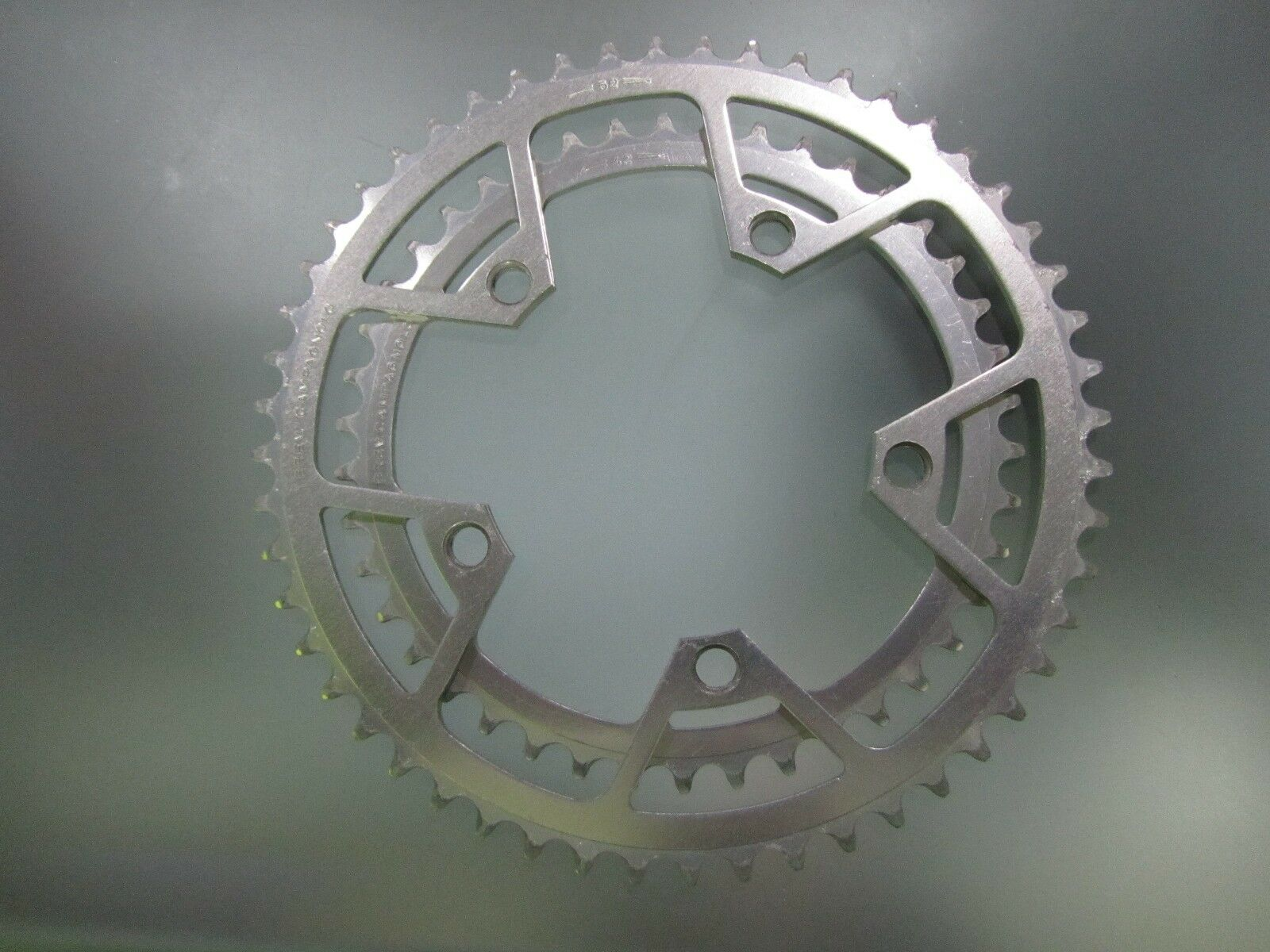 Vintage Campagnolo Victory chainrings, 42 and  52 tooth, 116mm BCD.  to provide you with a pleasant online shopping