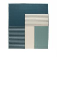 flatwoven En//Exterior Verde-Azul 200x250 cm * Nuevo Roskilde Alfombra Marca Ikea *