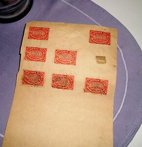 Briefmarken auf Blatt - Deutsches Reich / 100 000 Mark - Weinstadt, Deutschland - Briefmarken auf Blatt - Deutsches Reich / 100 000 Mark - Weinstadt, Deutschland