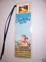 CHARLOTTES WEB Movie Film Cell Bookmark Collectible Memorabilia Cinema