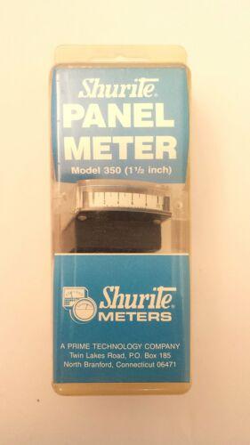 "0-10mA DC Analog Meter ~ 1.5/"" x 0.5/"" Edgewise Mount Details about  /Shurite 3303"