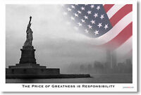 Price Of Greatness Is Responsibility - Poster