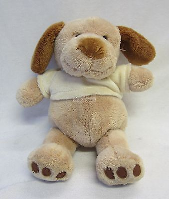Aggressive Plush Dog Fen Soft Toy & Rattle Button Eyes & Embroidered Mouth Great Baby Gift Skillful Manufacture