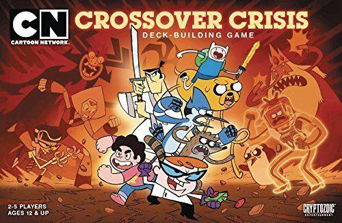 Cartoon Cartoon Cartoon Network Deck Building Game Crotver Crisis cf3ddc