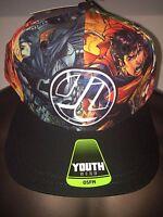 Batman Vs Superman The Flash Jla Movie Comic Book Boys Youth Osfm Hat Cap