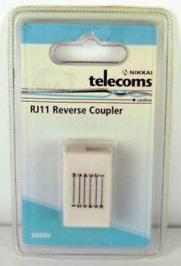 Rj11 Inverser Coupleur-nikkai-neuf Dans Emballage Scellé-afficher Le Titre D'origine Les Consommateurs D'Abord