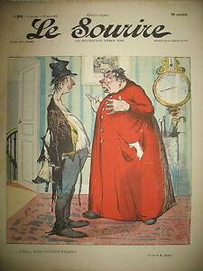 LE-SOURIRE-N-253-JOURNAL-HUMORISTIQUE-CADEL-ROUBILLE-GOTTLOB-POULBOT-1904