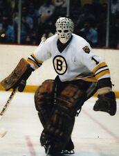 GILLES GILBERT BOSTON BRUINS NHL HOCKEY 8X10 GOALIE PHOTO PICTURE