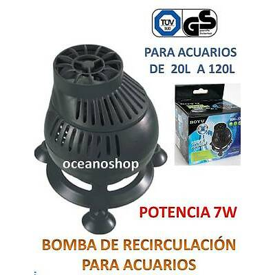 BOMBA RECIRCULACION 7W Vibracion para ACUARIO Simulador de Olas marino africano