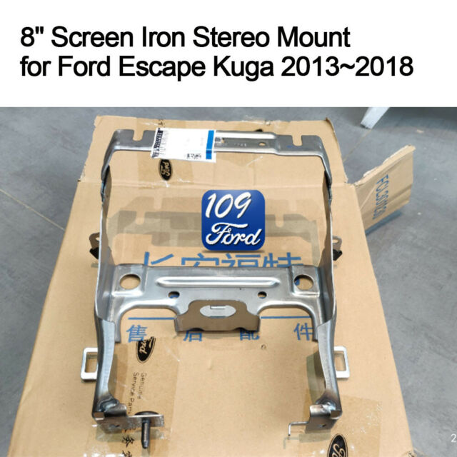 Genuine 8'' Screen Mount Trim Sync 2 Sync 3 Upgrade for Ford Escape Kuga  2013 18