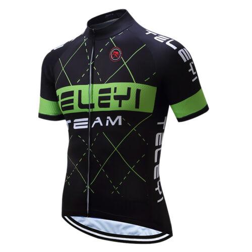Men Pro Riding Cycling Jersey Bike Bicycle Short Sleeve Clothing Shirt S-4XL