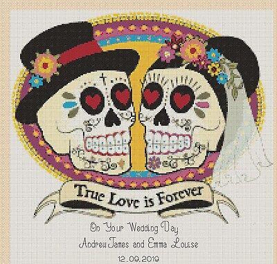 Wedding Doves On Your Wedding Day no 490  Cross stitch chart FlowerPower37-uk