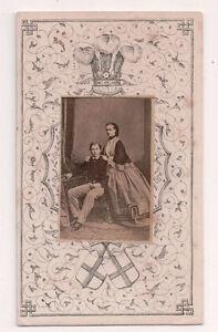 Vintage-CDV-King-Edward-VII-Queen-Alexandra-of-Britain
