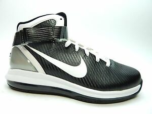 3235e0815 NIKE AIR MAX HYPERDUNK 2010 NEW WITH DEFECTS BLACK WHITE MEN SHOES ...