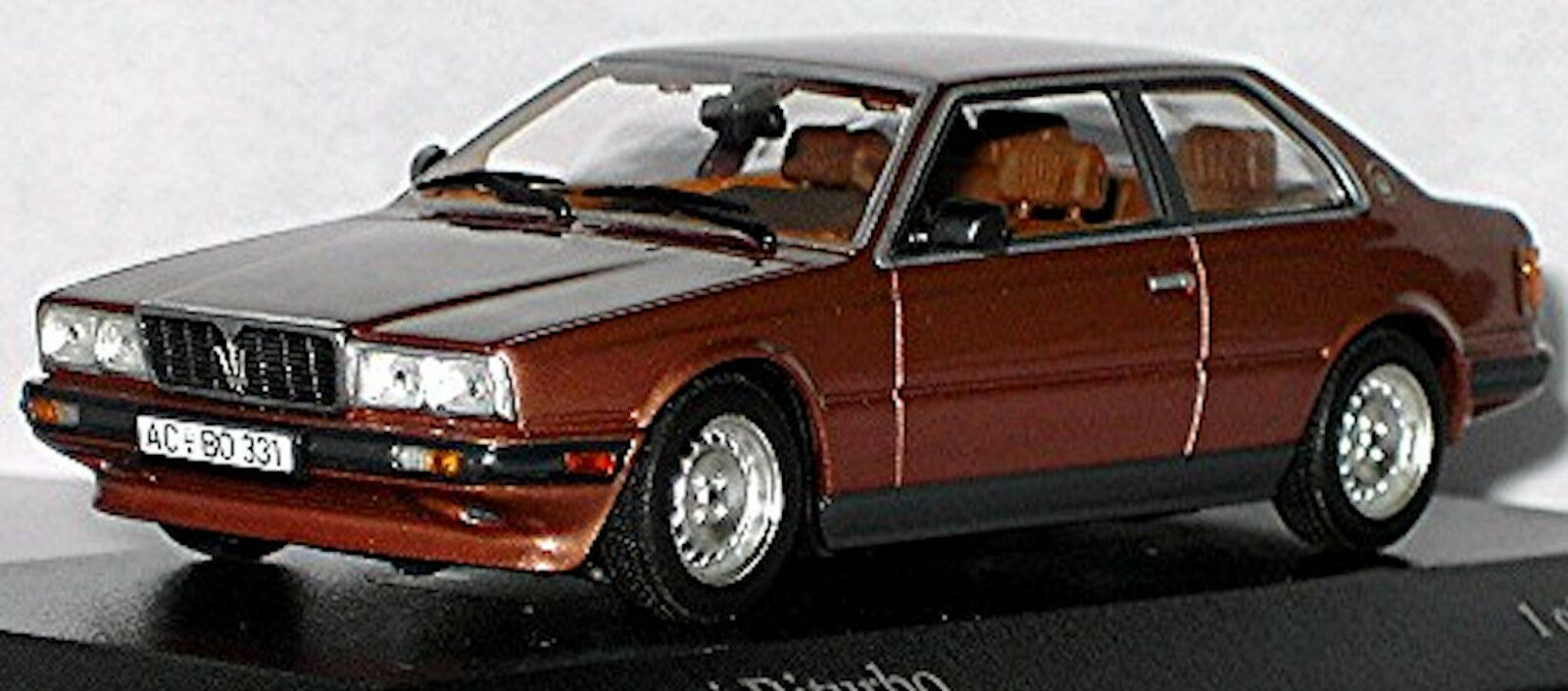 Maserati Biturbo 1981-82 brown 80 Metálico Cobre Cobre 1 43 Minichamps