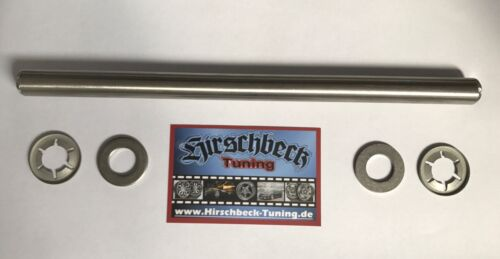 Edelstahl-Achse Ø15mm..Länge 300mm Stoltz RP8 /& RP32,Kielrolle,Kielrollenhalter