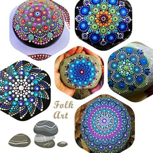 33PCS Mandala Dotting Tools for Rock Painting Kit Dot Art Rock Pen Paint Stencil