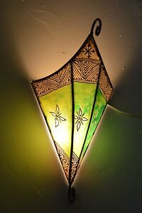 Moroccan wall sconce light fixture decorative henna goat skin image is loading moroccan wall sconce light fixture decorative henna goat aloadofball Choice Image