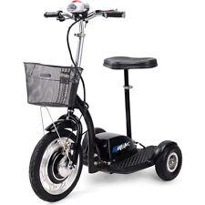 Electric Mobility Trike 36v 350w MotoTec Motor Scooter, Seat, LED light, basket