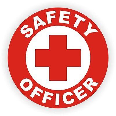 Think Safety First Hard Hat DecalLabel Helmet Sticker Safe Worker Laborer