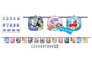 Disney Princess 10ft Jumbo Letter Birthday Banner Custom Age Party