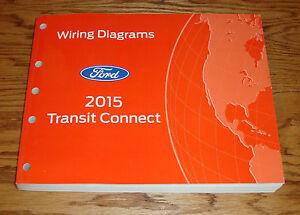 Original 2015 Ford Transit Connect Wiring Diagrams Manual ...