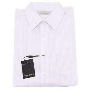 Image is loading 22537-camicia-YVES-SAINT-LAURENT-YSL-camicie-uomo- 63743708f16