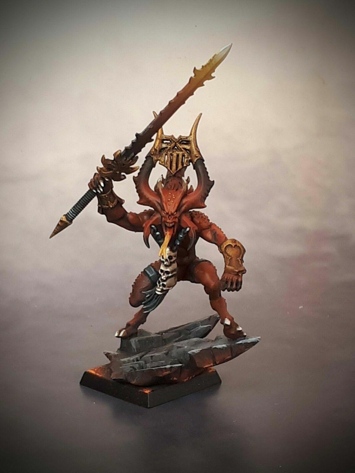 herald daemons khorne age of sigmar model aos warhammer