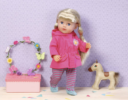 Puppen & Zubehör Kleidung & Accessoires Zapf Creation 870266 Dolly Moda Jacke pink 38-46 cm NEU OVP /