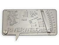 Pipe Pit Gage Welding Gauge Test Ulnar Welder Inspection Stainless Steel