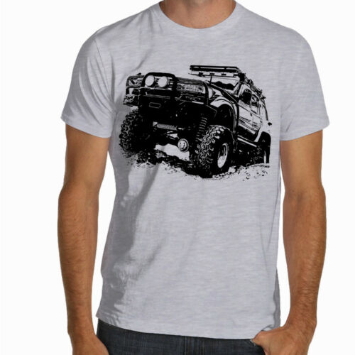 Off Road Fan Toyota Land Cruiser J80 Soft Cotton T-Shirt Multi Colors