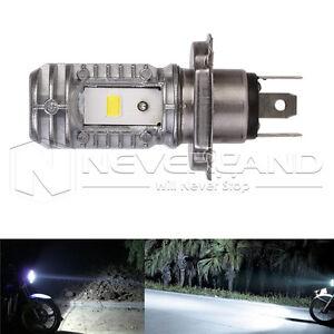 H4-Hi-Lo-40w-6000k-9-85v-motocicleta-ATV-LED-peras-DRL-lampara-faros