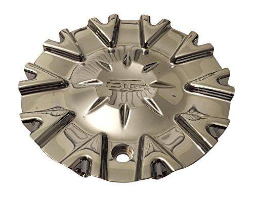 DIP Ice Chrome Wheel Center Cap C10D67 C10D67-CAP LG1610-62 11522280F-1