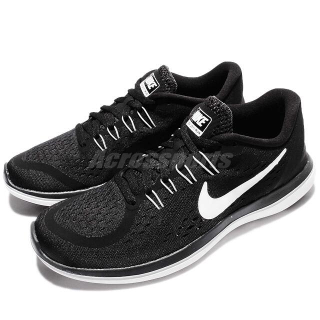 Wmns Nike Flex 2017 RN Run Black White Women Running Shoes Sneakers 898476-001