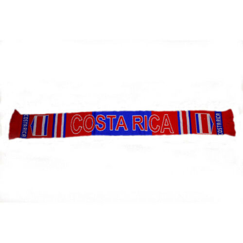 COSTA RICA COUNTRY FLAG THICK SCARF. NEW