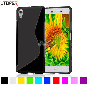 S-Line-Gel-TPU-Silicone-Case-Skin-Cover-For-Sony-Xperia-X-XA-X-Performance-E5-XZ