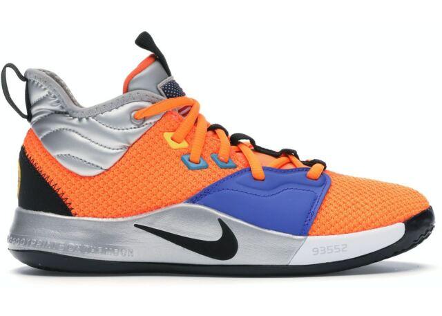 Nike Pg3 X NASA GS Orange Paul George