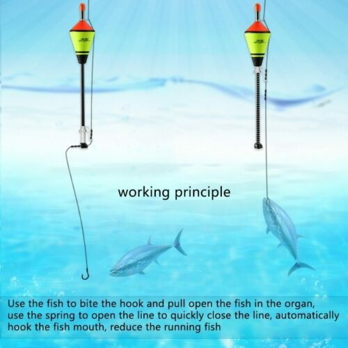 New Automatic Fishing Float Portable Accessories Fast Bobber Set Float Device