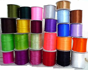 10-yd-9-1-meters-Satin-Ribbon-Trim-Double-Faced-1-8-3-5mm-width-Upick-SA