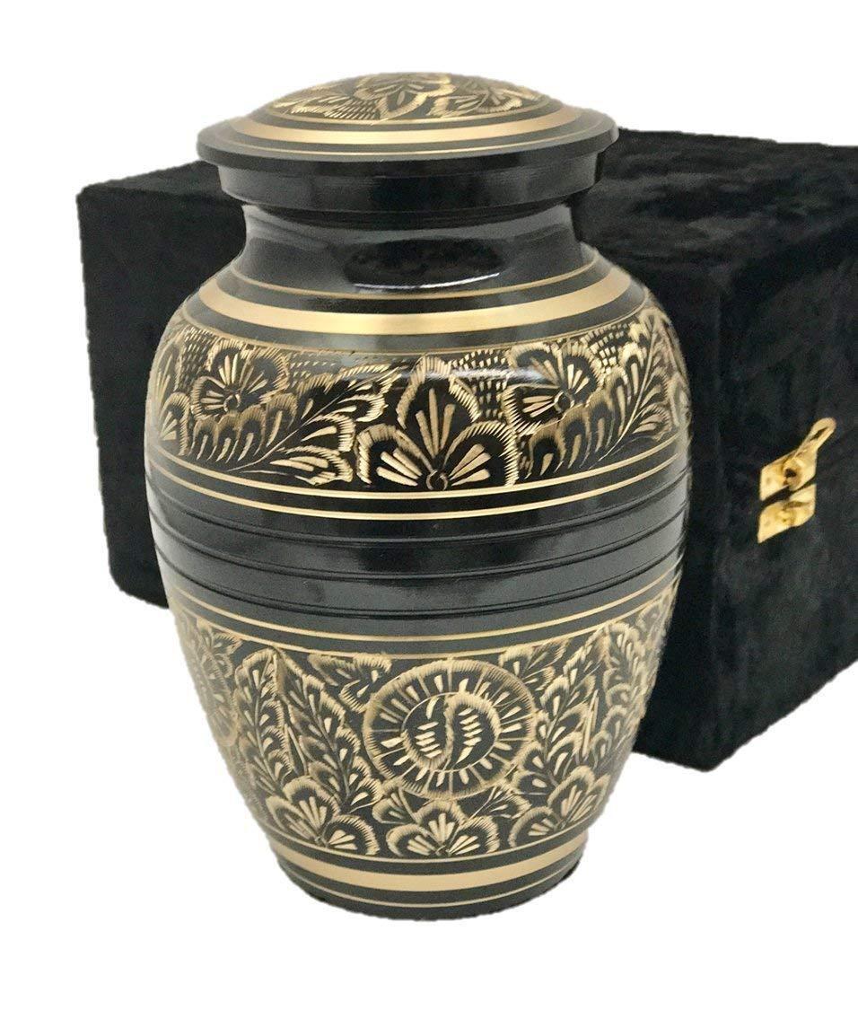 Funeral Cremation Urn, Pet or Human Memorial Memorial Memorial Ash Urn with Gift Box- 7  Med Größe c599b6