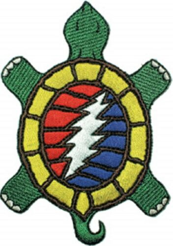 The Grateful Dead Steal Your Terrapin Embroidered Iron On Patch rock