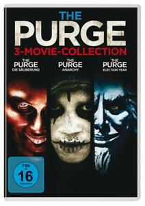 The-Purge-la-pulizia-Anarchy-Ethan-Hawke-Lena-Headey-a-Kane-3-DVD-NUOVO