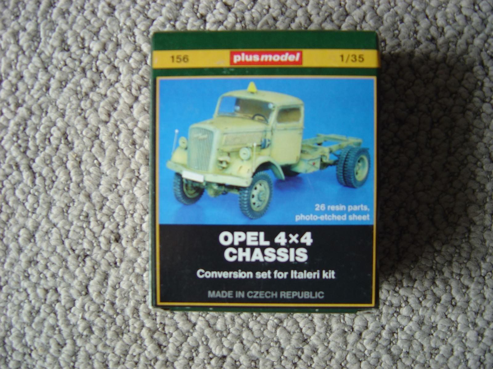 Plus Model 1 35 Opel Blitz 4x4 chassis conversion set